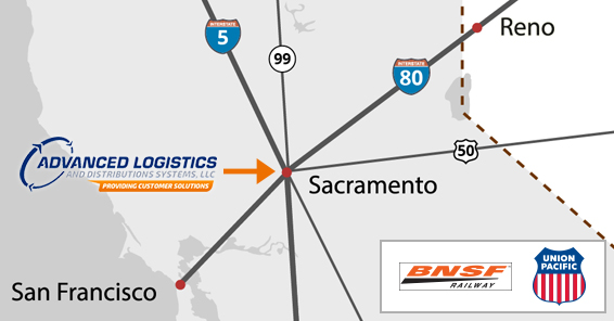 Advanced Logistics and Distribution Systems Map