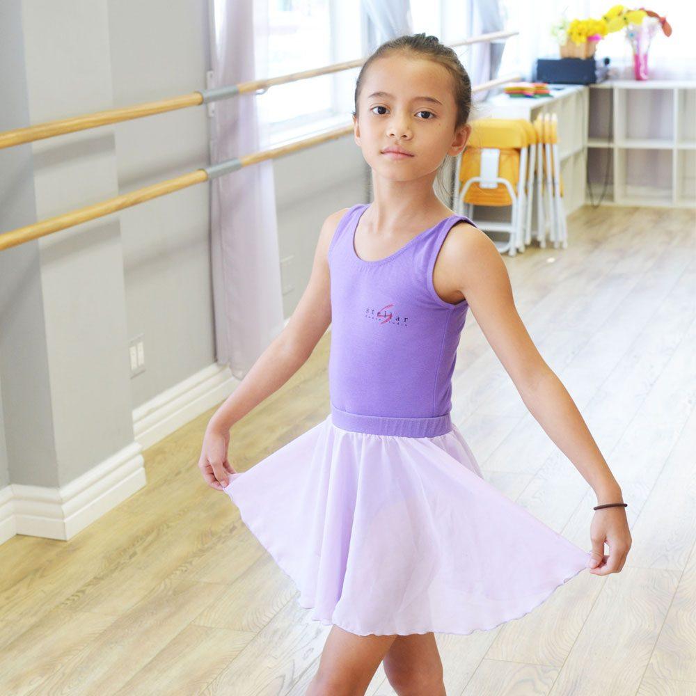 Purple Ballet Skirt | Stellar Dance Studio