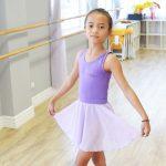 Purple Ballet Skirt   Stellar Dance Studio