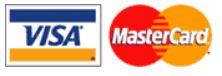 We accept Visa & MasterCard, Cash & local personal checks.