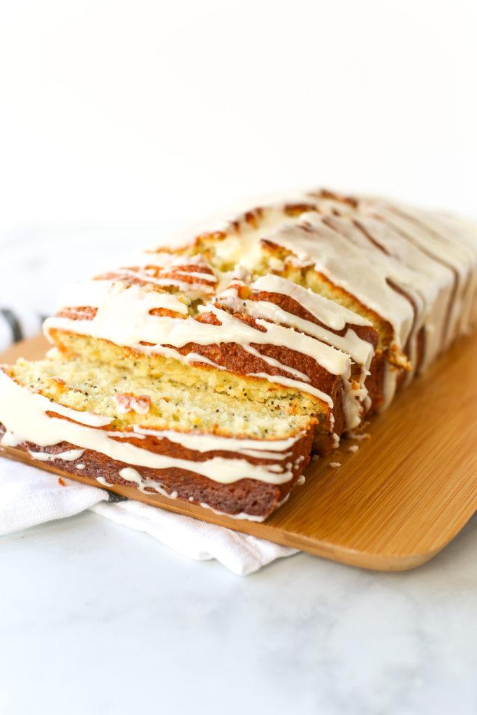 glazed orange poppy seed bread