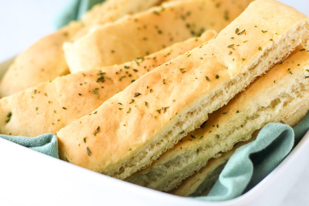 Sheet Pan Breadsticks