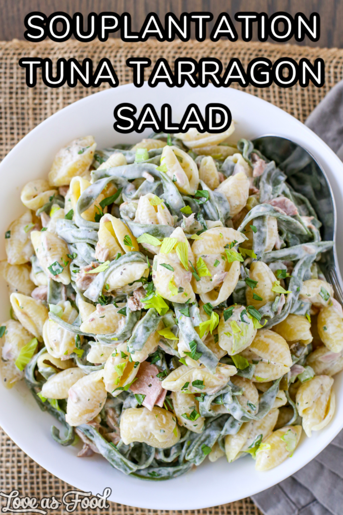 souplantation tuna tarragon salad