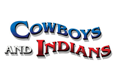 The Shoppes at Zion Cowboys and Indians Logo