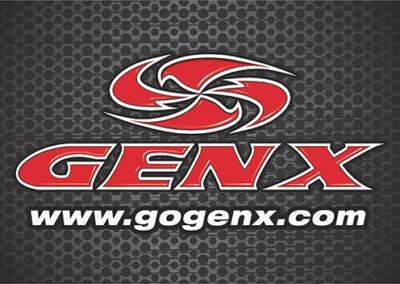 The Shoppes at Zion Gen X Logo