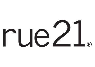 Shoppes at Zion rue21 Logo