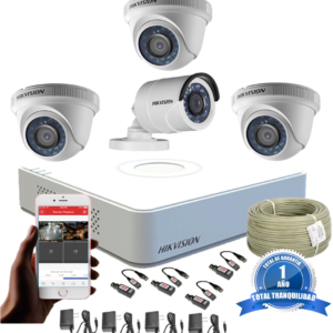 KIT CCTV HIKVISION MINI DVR FULL HD 1080P KIT-15