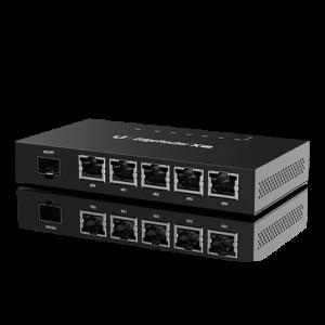 ROUTER NETWORKS 5 PUERTOS UBIQUITI ER-X-SFP