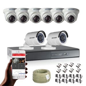 KIT CCTV HIKVISION DVR TURBO 8CH KIT-1