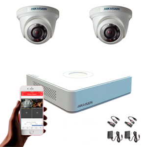 KIT CCTV HIKVISION MINI DVR TURBO KIT-10