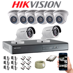 KIT CCTV HIKVISION DVR TURBO 16CH KIT-4