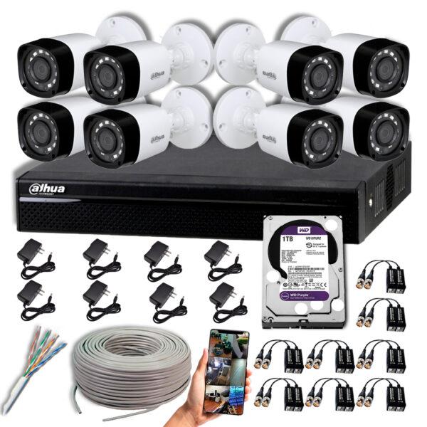KIT CCTV DAHUA DVR PENTAHIBRIDO KIT-1