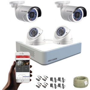 KIT CCTV HIKVISION MINI DVR TURBO KIT-7