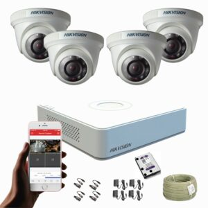 KIT CCTV HIKVISION MINI DVR TURBO KIT-12