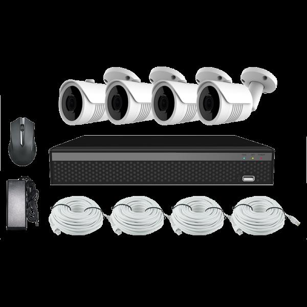KIT CCTV LONGSE XVR 2MP 4CH NVR3604DP2HSF200 KIT-5