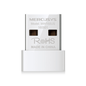 Adaptador USB Nano Inalámbrico N150 Mercusys - MW150US