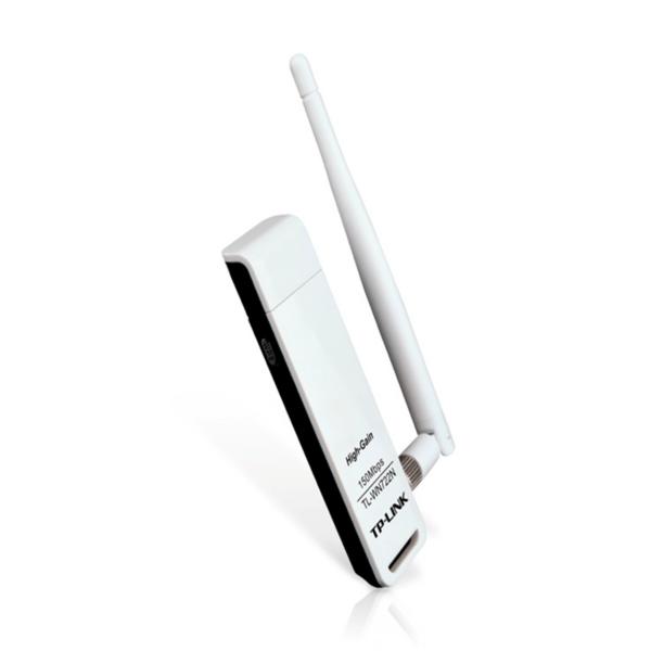 Adaptador USB Inalámbrico de Alta Sensibilidad a 150 Mbps TP-Link - TL-WN722N
