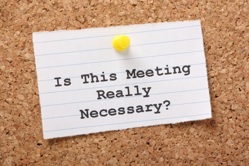 The Secret to Holding Effective Meetings