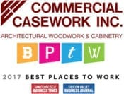 2017 Best Places to Work Silicon Valley Business Journal and San Francisco Business Times