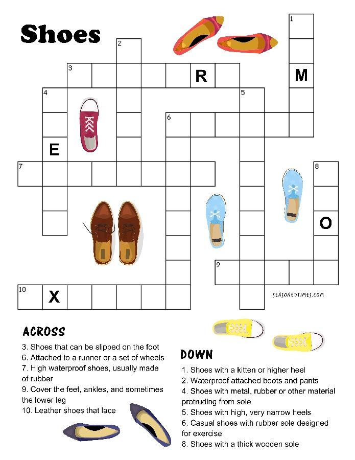 ShoesCrossword420