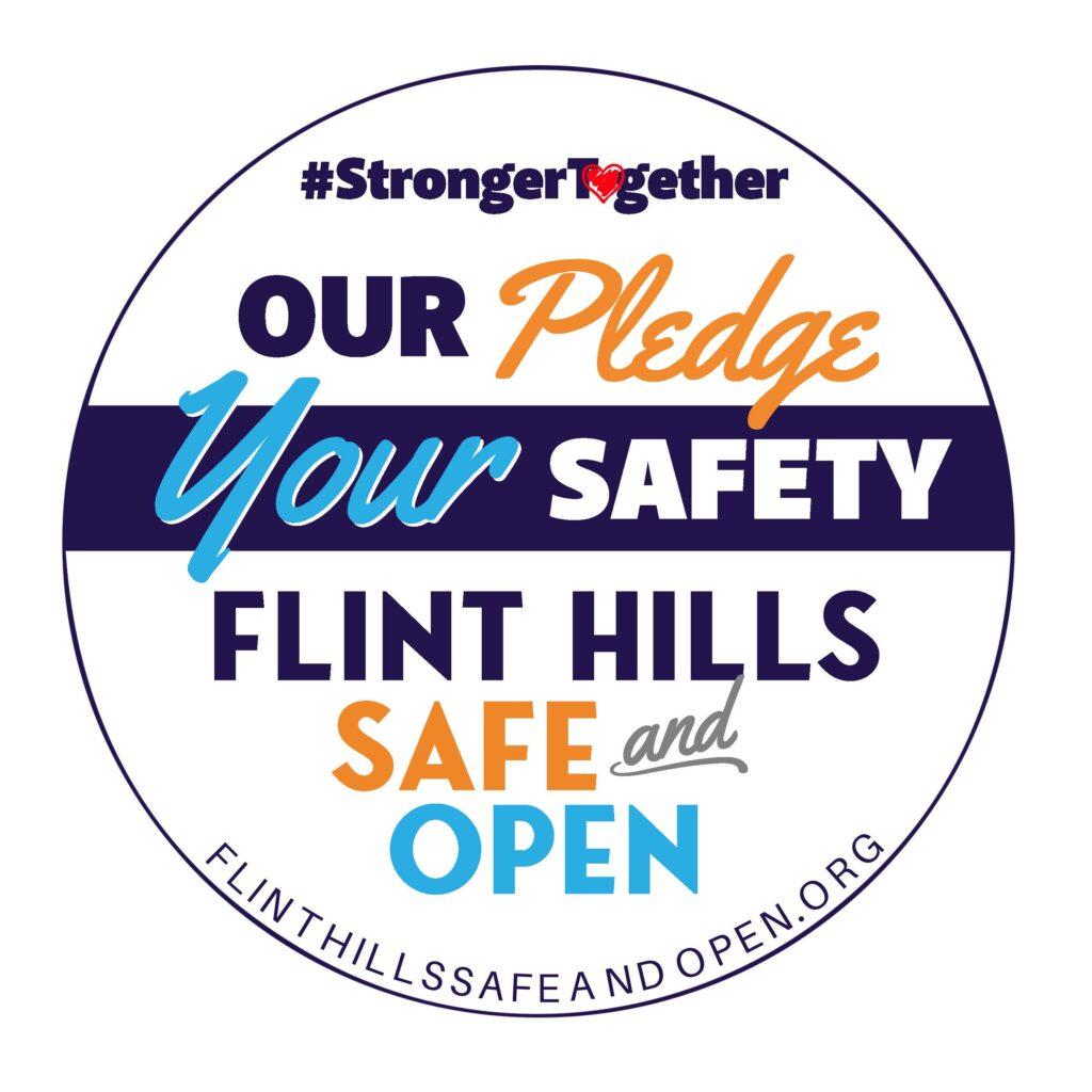 Flint Hills Safe & Open Pledge