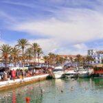 Mercadillo puerto de Estepona