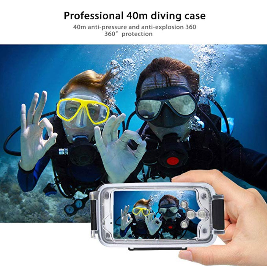 Underwater Waterproof Diving Case for iPhone