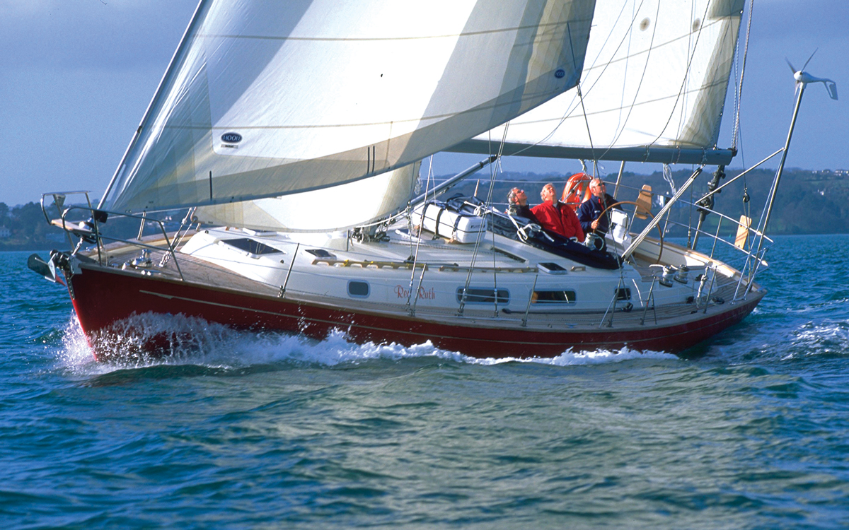 best ever bluewater yachts Rustler 42 credit Latitudes Picture Library