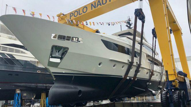Sanlorenzo SD126 38m motor yacht KIA ORA -  At launch