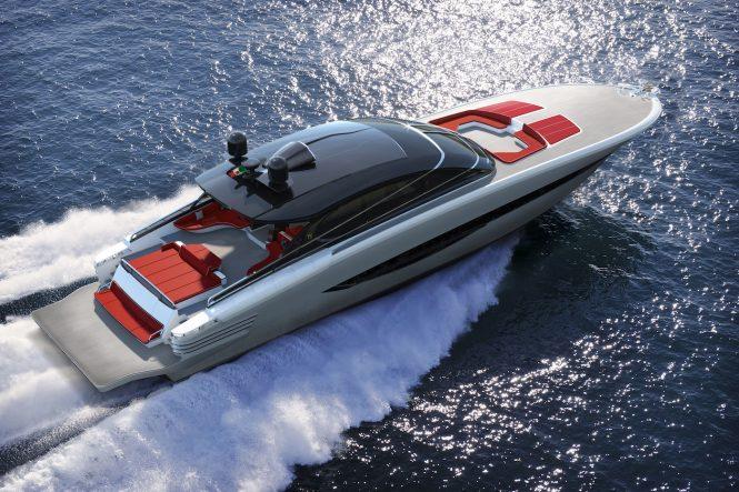 ISA GTO100 aerial rendering