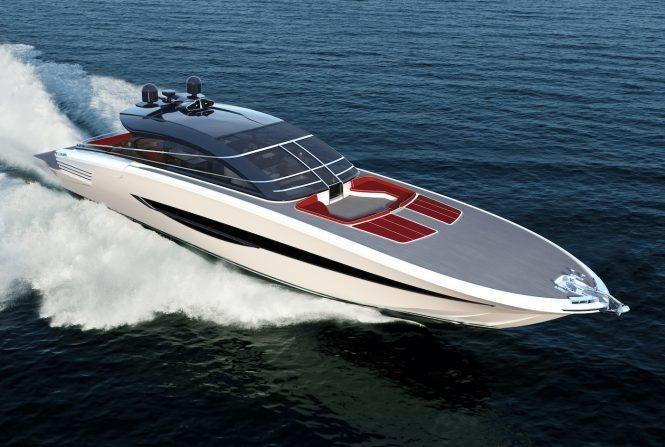 ISA SUPER-SPORTIVO GTO 100 yacht rendering
