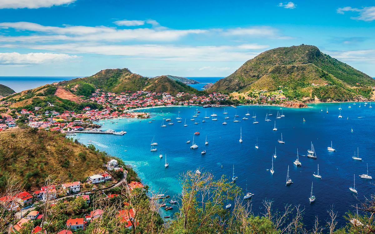 caribbean sailing chris doyle tips Terre de Haut island Guadeloupe Le Saintes credit NAPA Alamy