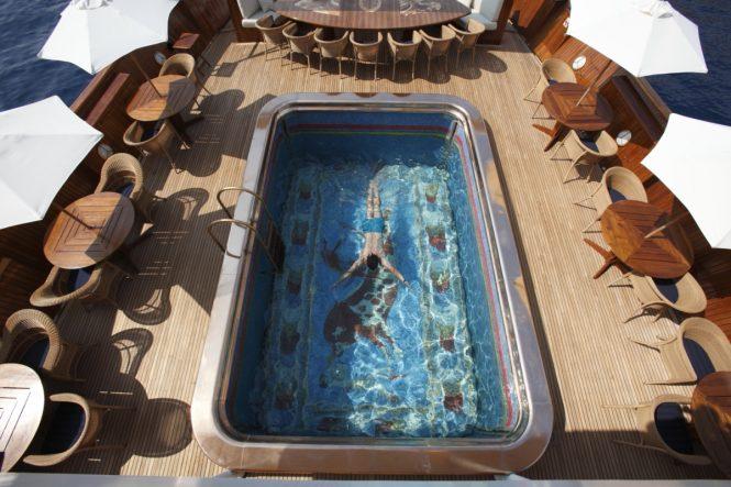 MY CHRISTINA O – Pool - Extraordinary swimming pools