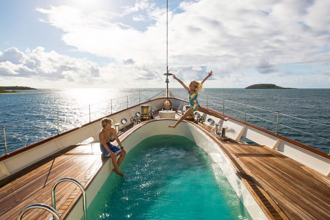 Nero – Family charter - Extraordinary swimming pools