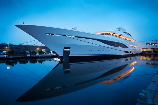Brand new superyacht Arrow enters charter market in the Mediterranean