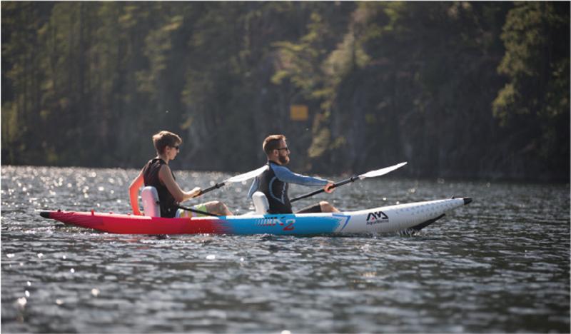 5 best inflatable kayaks under 1000 Aqua Marina Betta VT K2 1 or 2 person Inflatable Kayak BB Yacht Charter Marbella