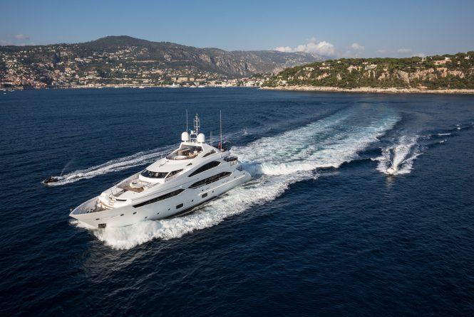 THUMPER superyacht in the Western Mediterranean