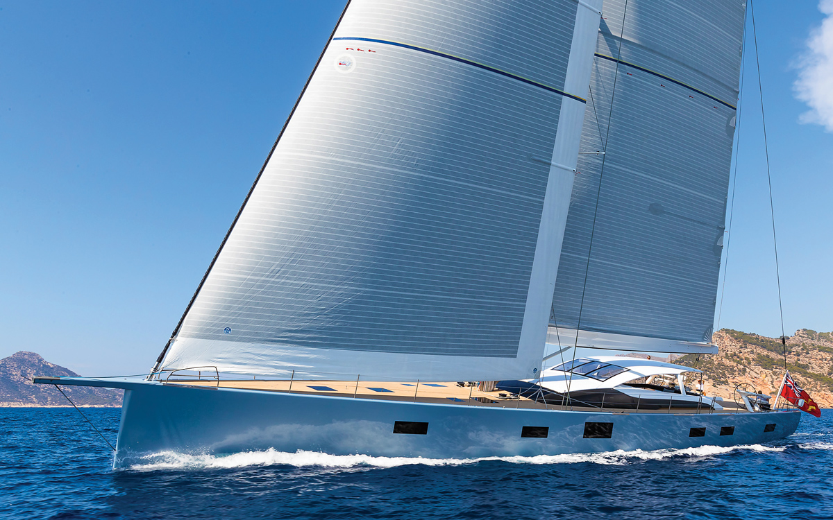 See inside 9 of the most amazing modern sailing superyachts