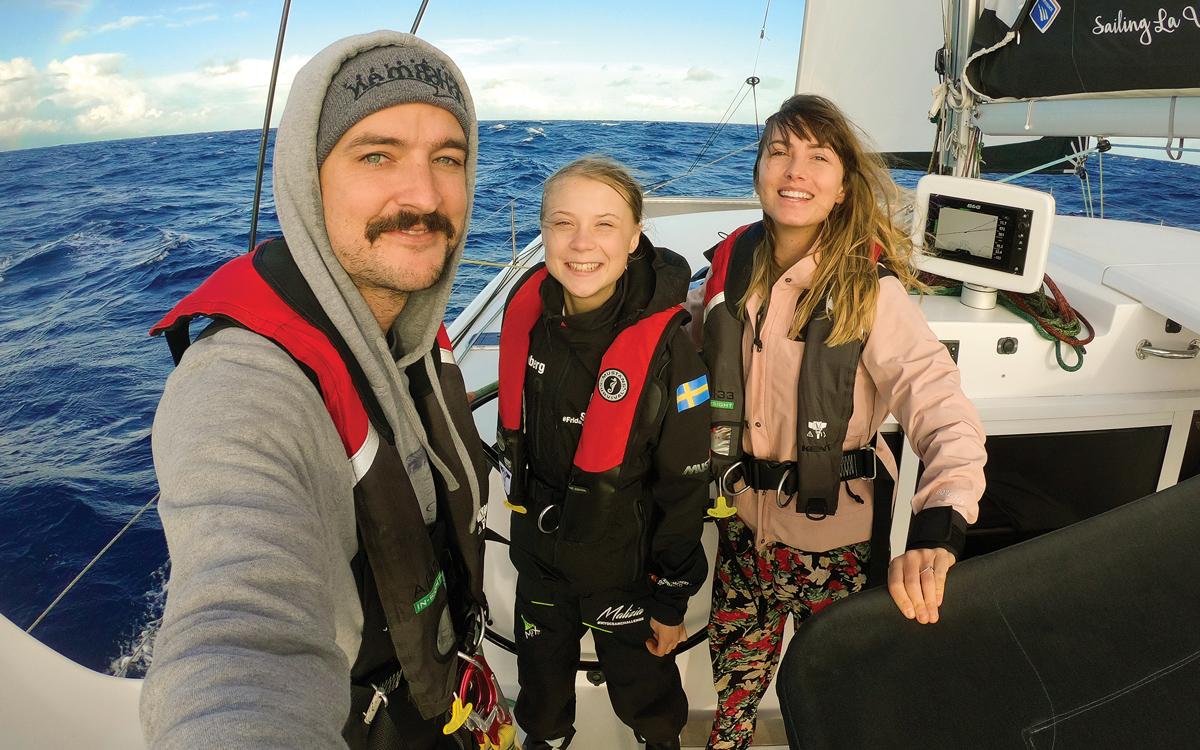greta-thunberg-atlantic-sailing-la-vagabonde-selfie-credit-Elayna-Carausu