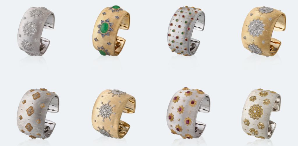 Buccellati Dream Bracelets Collection