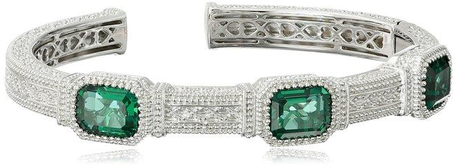 Judith Ripka Estate Cuff Bracelet