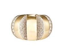 Mahnaz Ispahani Vintage diamond cutout ring, $17,670 barneys.com