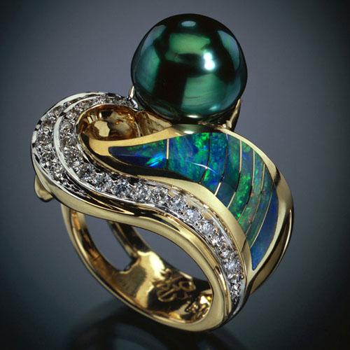 Tahitian Opal Ring