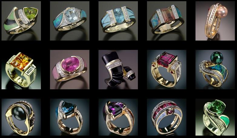 Randy Polk's Women Ring Designs