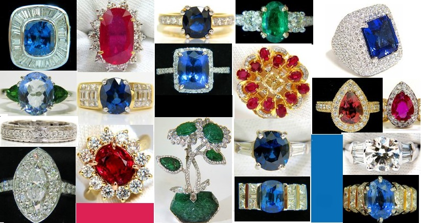 Gorgeous Gemstone and Diamond Rings at Avis Diamonds