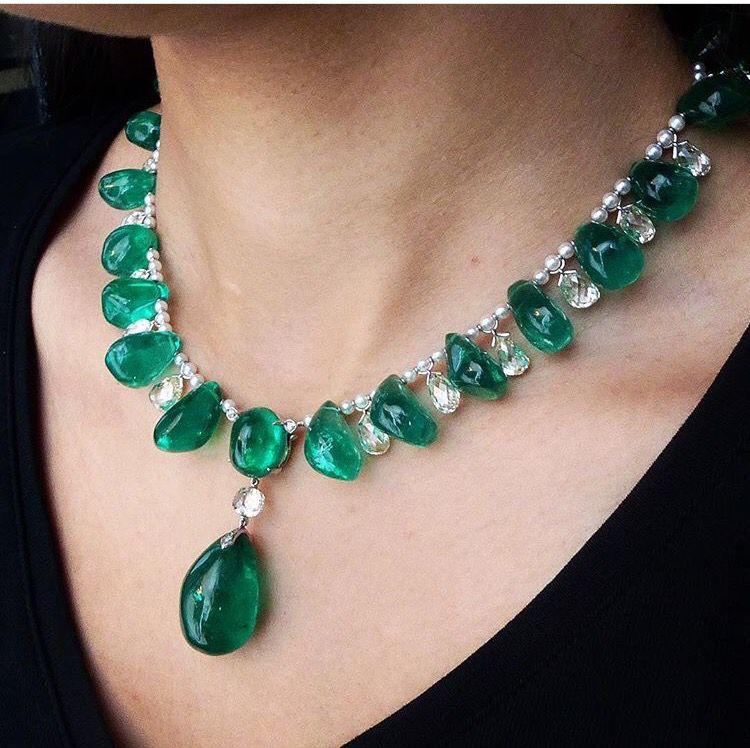 Gorgeous Emerald Necklace