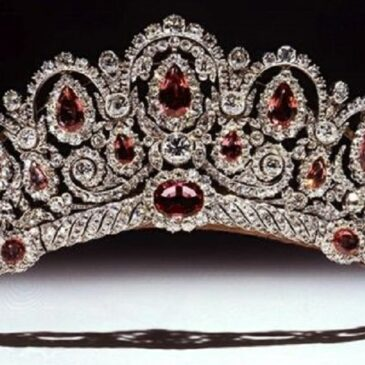 Princess Ekatarina Bagration's Antique Tiara, Circa 1810