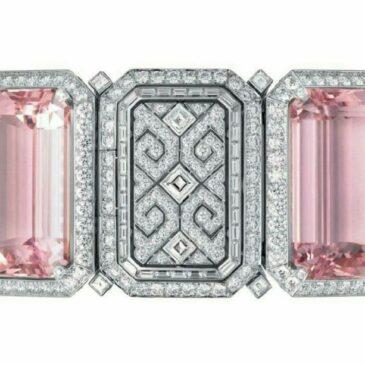 Kunzite and Diamond Bracelet by Cartier