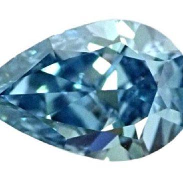 Gorgeous 1.50 Carat Fancy Vivid Blue Flawless Natural Diamond GIA Certified