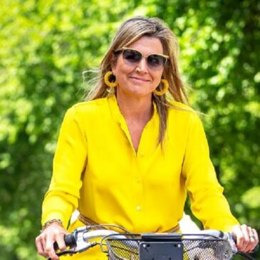 Queen Maxima of the Netherlands Has a Bright and Peppy Fashion Vibe